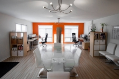 A small commercial office painted by Precision Painting in Ottawa