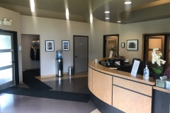 A dental office painted by Precision Painting in Ottawa