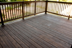 Deck restained