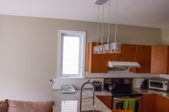 A kitchen painted by Precision Painting in Ottawa