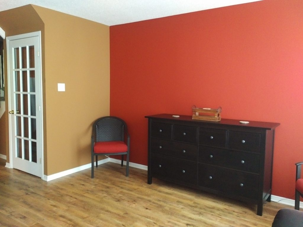 Dining room painted by Precison Painting in Ottawa, Ontario